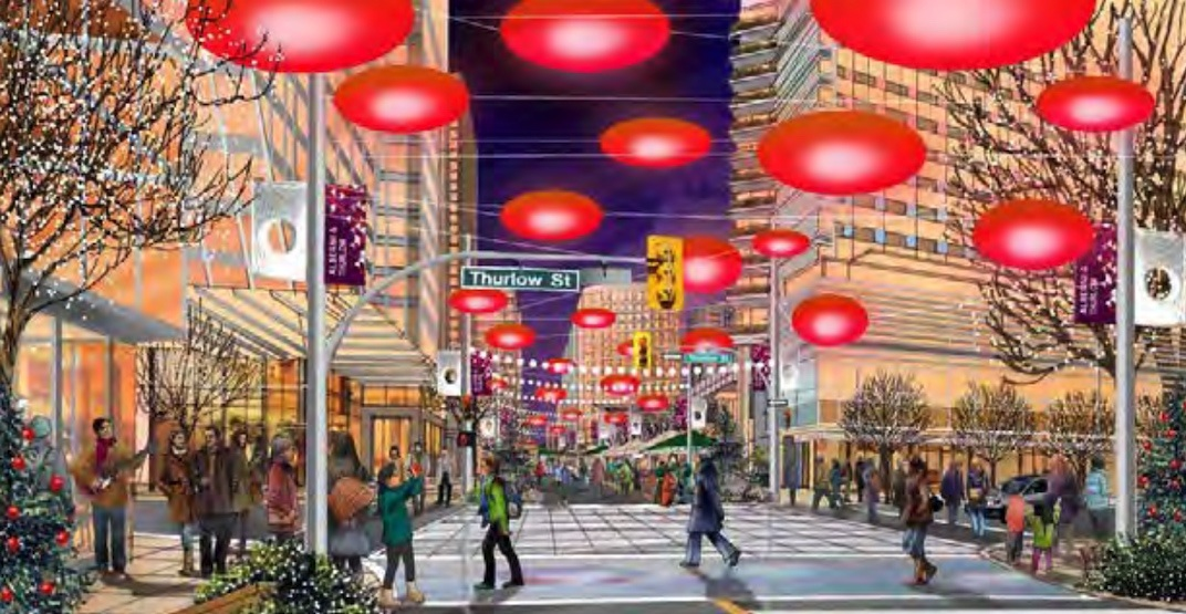 Alberni street redesign vancouver