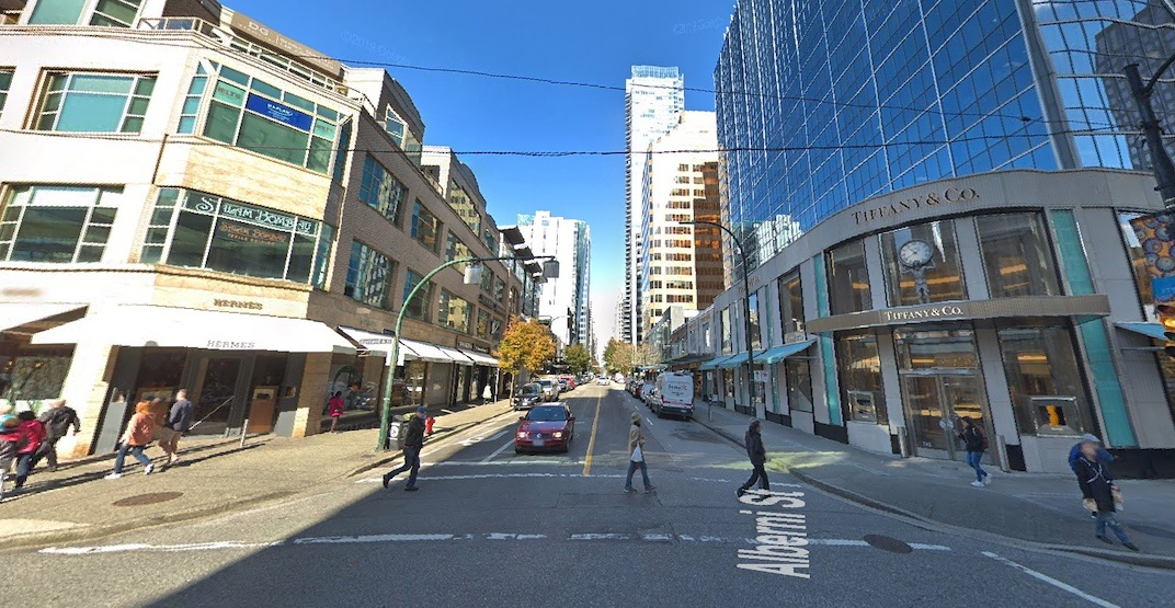 Alberni Street Vancouver