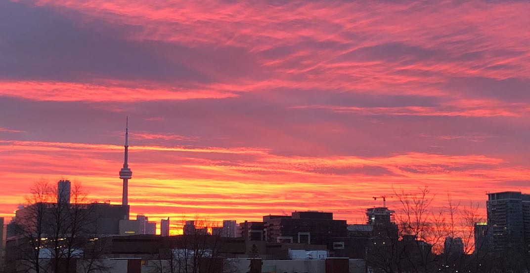 This morning's sunrise over Toronto was pure magic (PHOTOS)