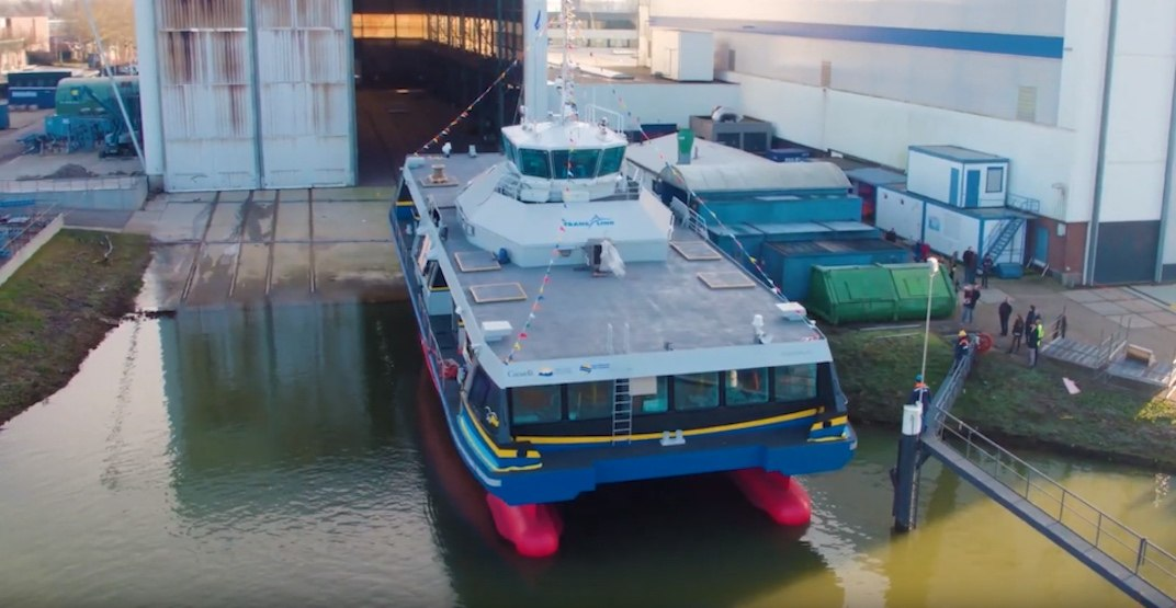 TransLink considering electric-hybrid vessels for future SeaBus fleet