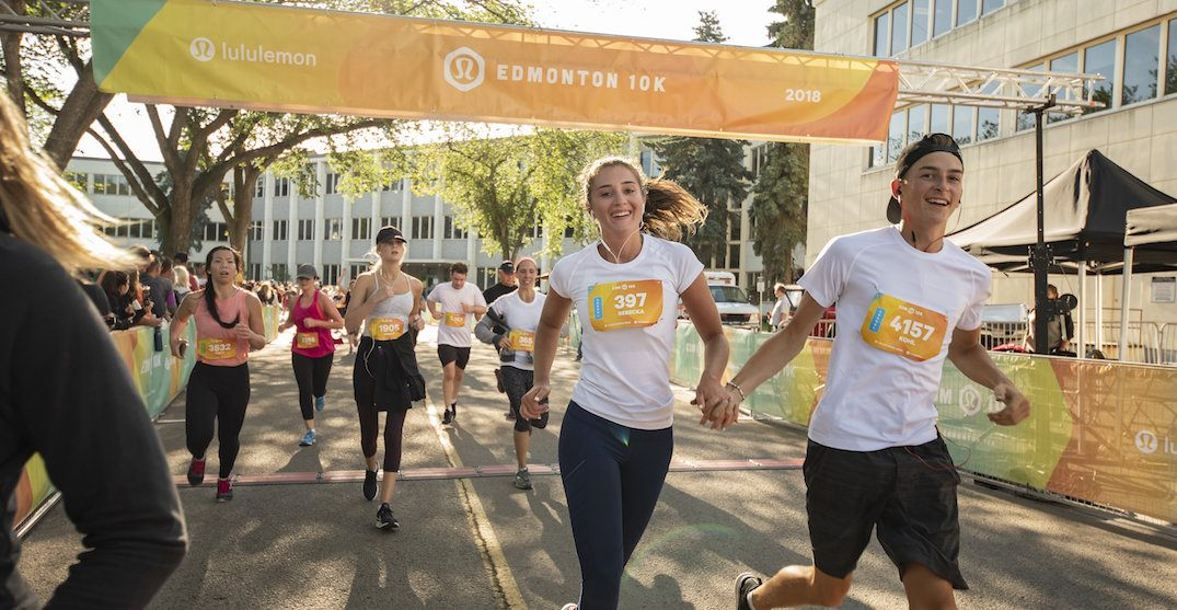 lululemon's 10k race returns to Alberta this July (PHOTOS)