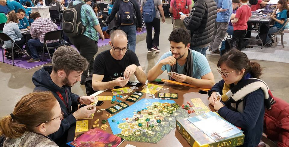 A Settlers of Catan National Qualifier is being held in Vancouver this March