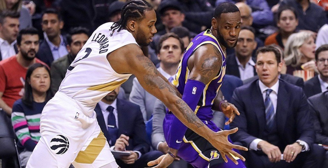 LeBron James tells Kawhi Leonard 'We'll be in touch' following Thursday's game