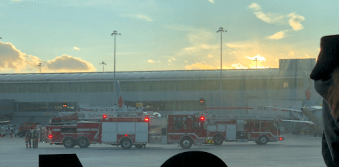 Delays expected to continue after fire breaks out in Terminal 1 at Pearson