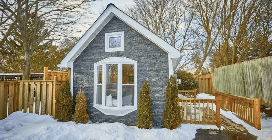 There's a 253-sq-ft 'tiny home' for sale in the GTA for $200,000 (PHOTOS)