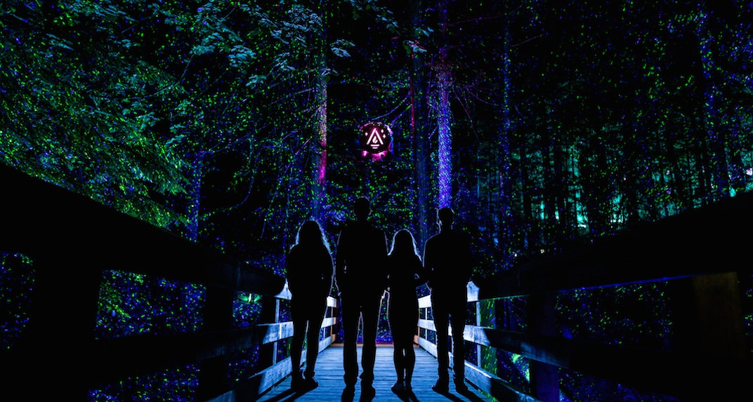 A new interactive light experience opens at the Toronto Zoo this week