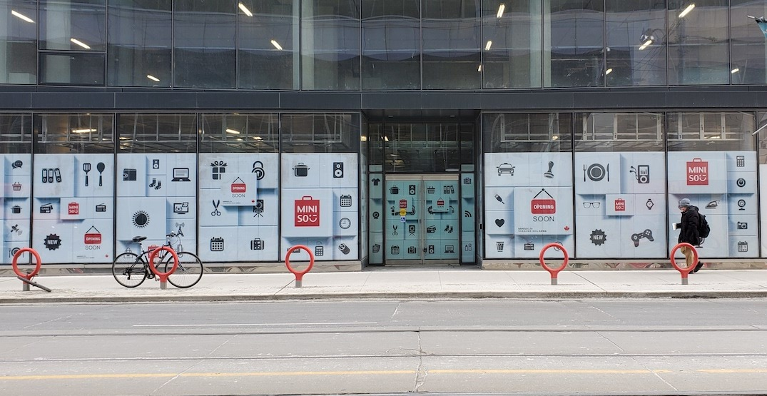 A massive MINISO store is coming to Queen Street West (PHOTOS)