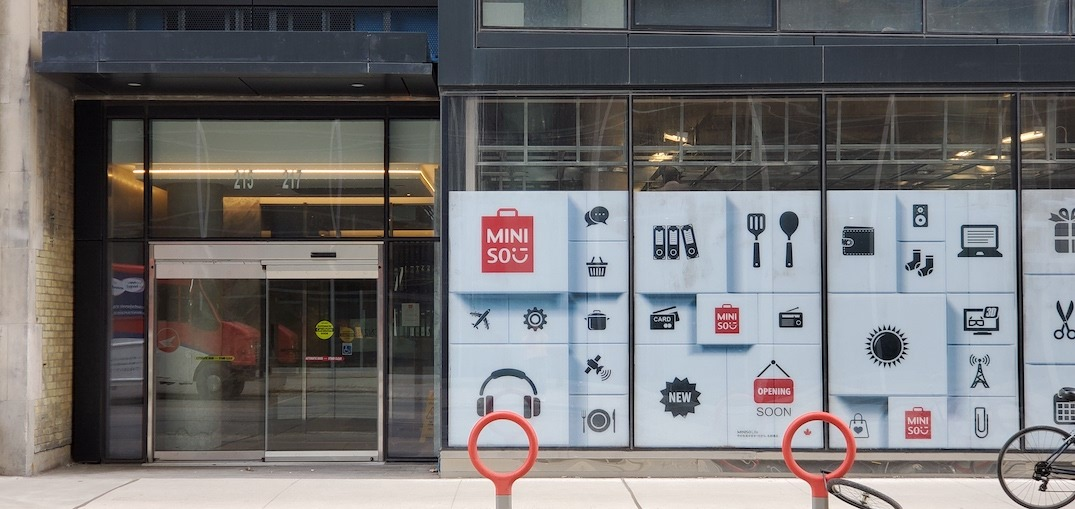 A massive MINISO store opens today on Queen Street West