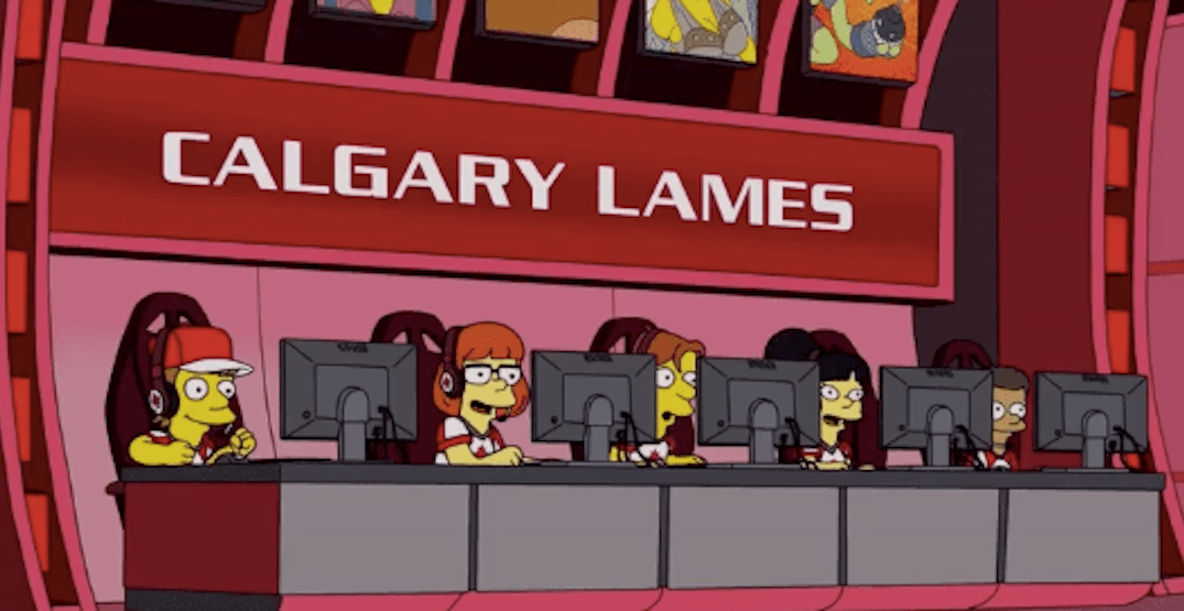 Calgary Flames and eSports given nod during recent 'Simpsons' episode
