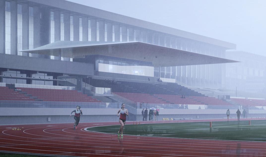 SFU Outdoor Stadium