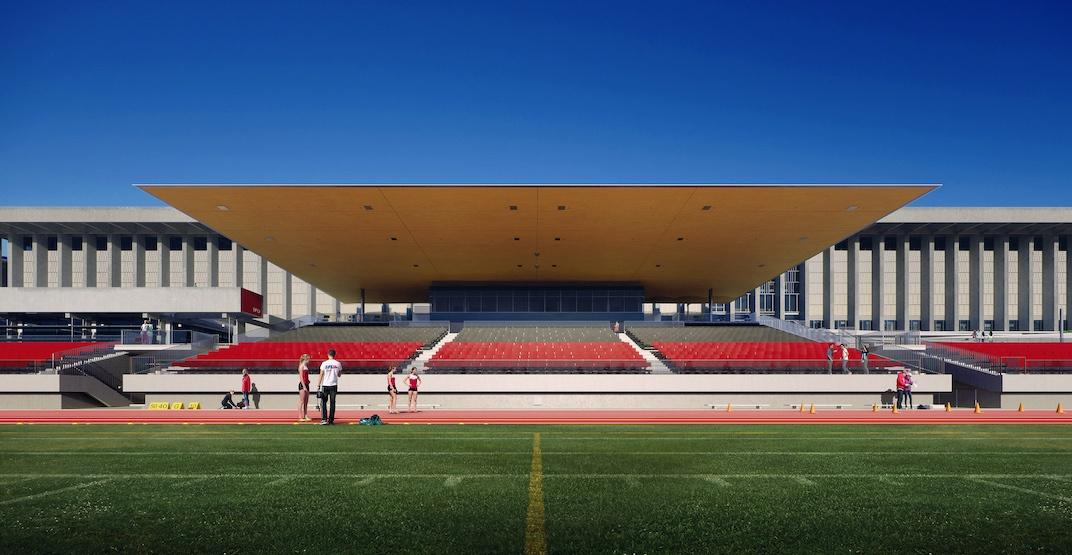 Sfu outdoor stadium 1