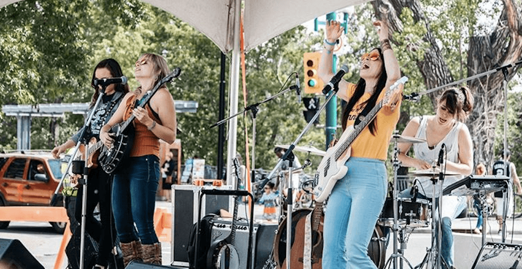 There's a massive FREE street party happening in Calgary this summer