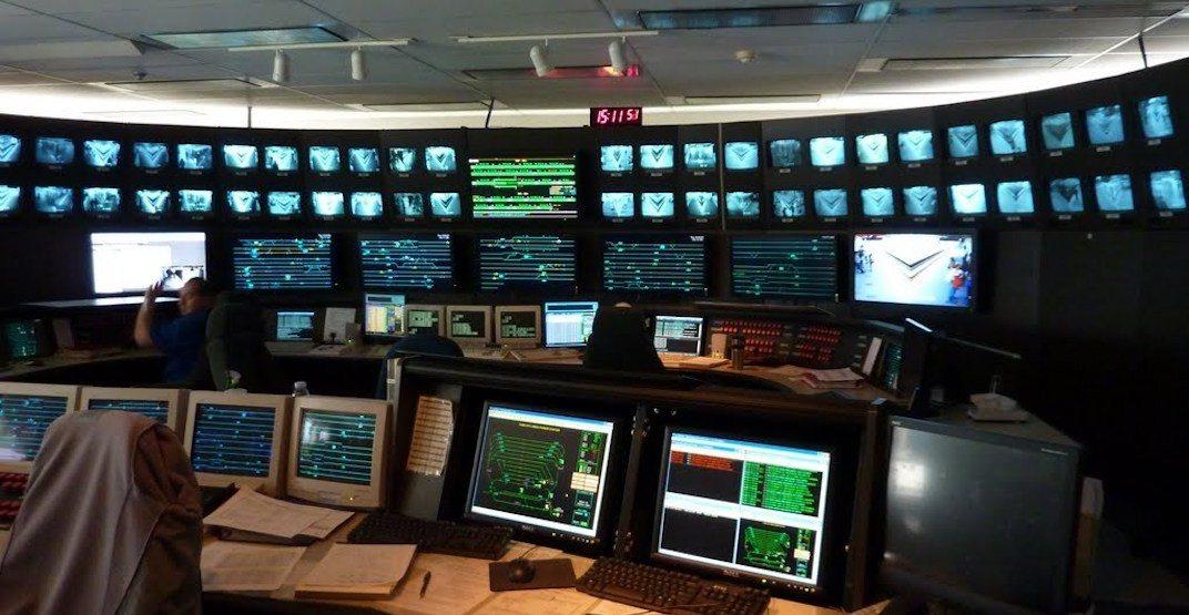 SkyTrain control centre