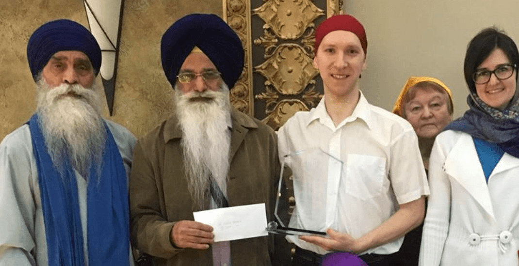 New West Sikh temple honours 'hero' who helped save senior from hammer attack