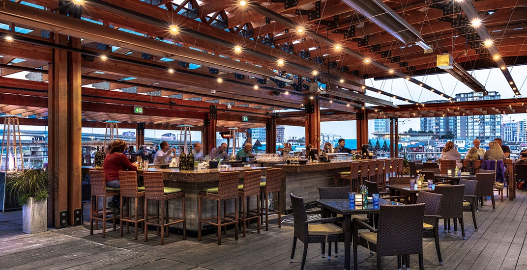 Kick off patio season on the largest deck in the Lower Mainland