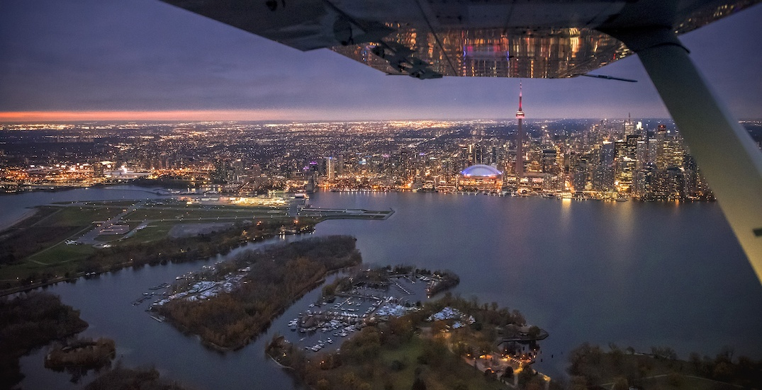 Toronto's island airport voted one of the most scenic landings in the world... again
