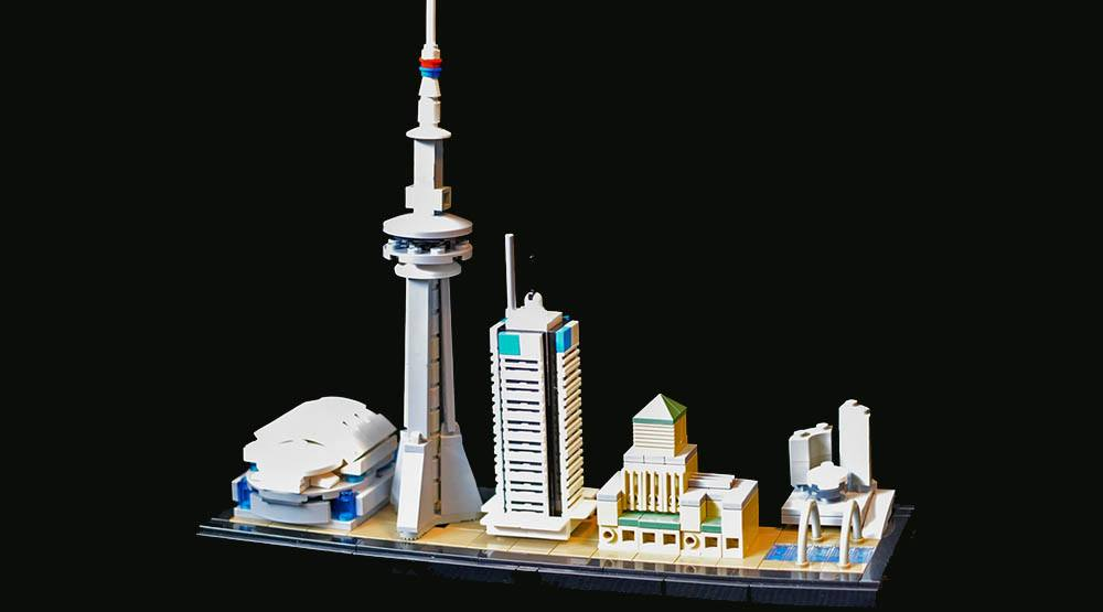 Someone recreated major Toronto landmarks with LEGO (PHOTOS)