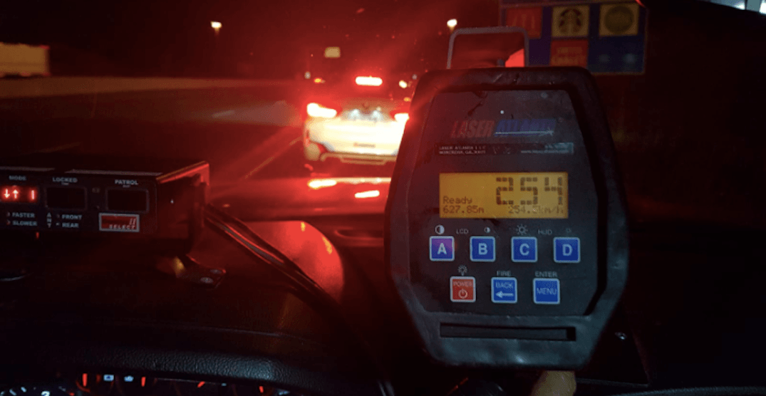 Two drivers caught speeding 'ridiculously fast' at over 225 km/h in the GTA