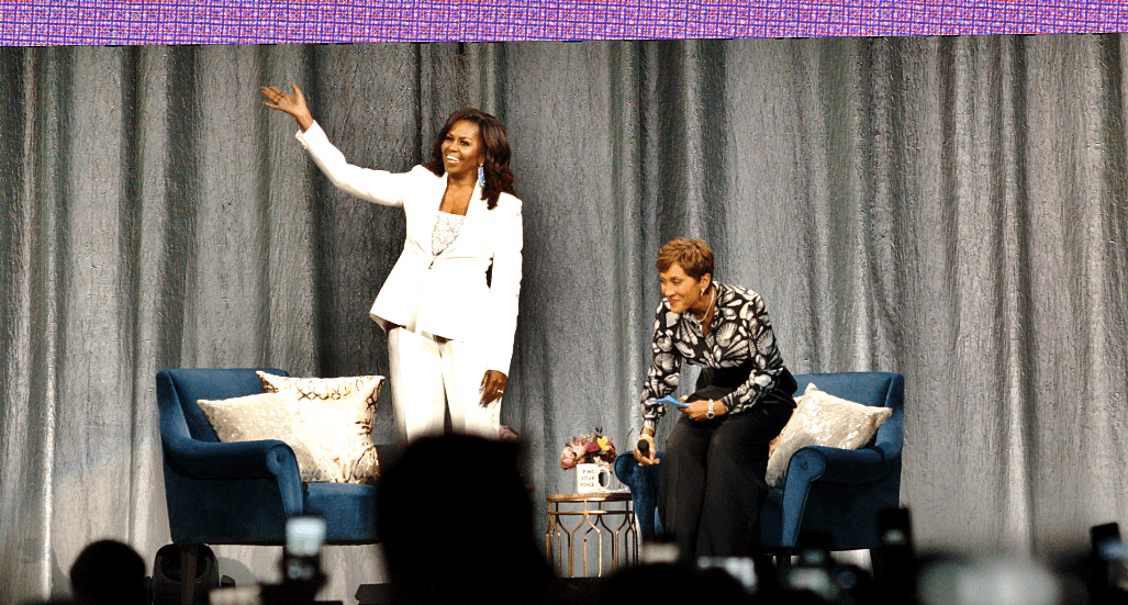 Michelle Obama inspires at candid Vancouver book tour stop