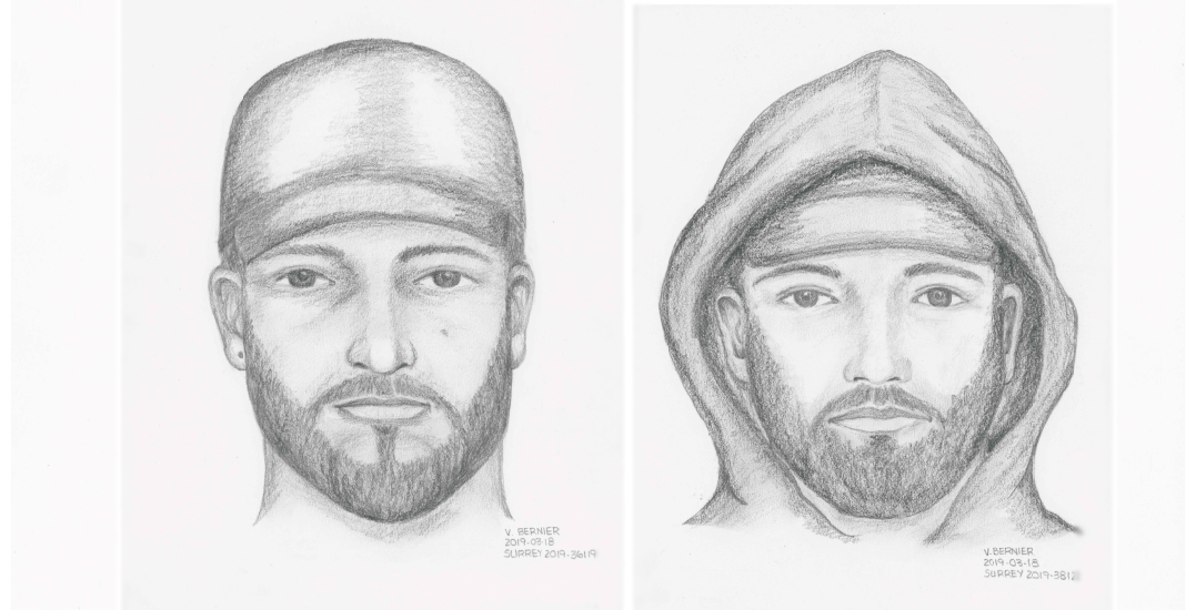 RCMP release sketch of sex assault suspect who followed woman home