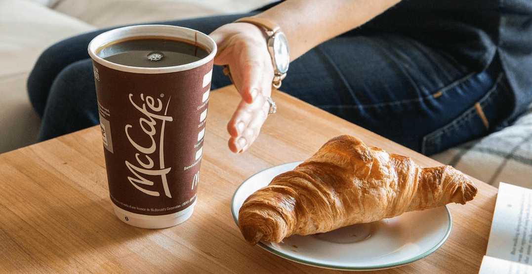You can enjoy FREE coffee with a cop at this downtown McDonald's today