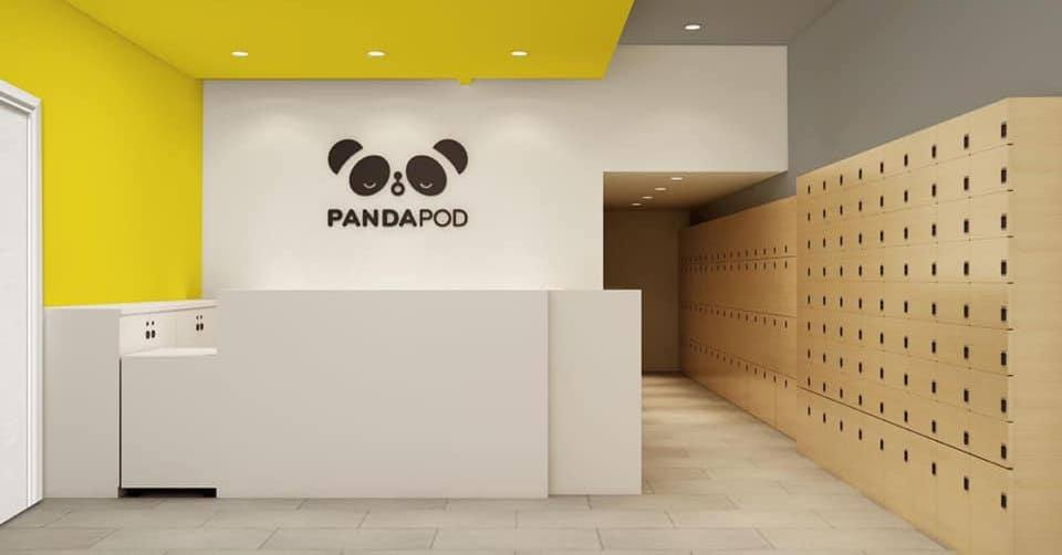 Panda Pod Hotel in Richmond. (Panda Pod Hotel)