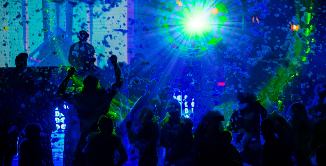 There's going to be a neon foam party in Calgary this April