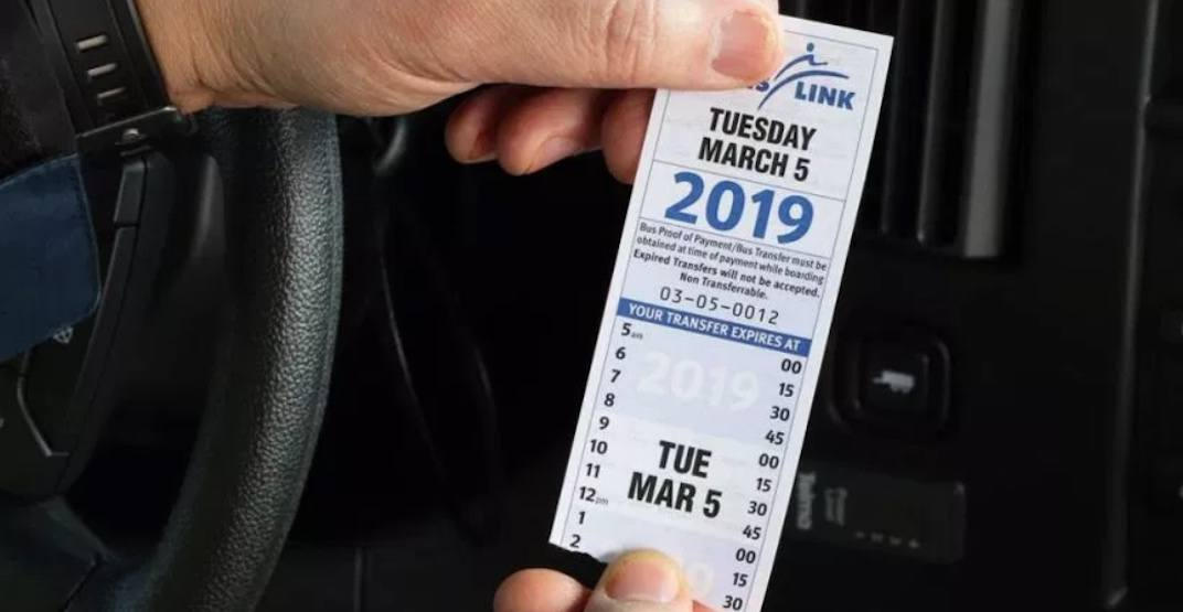 Paper transfer tickets returning to some TransLink buses permanently
