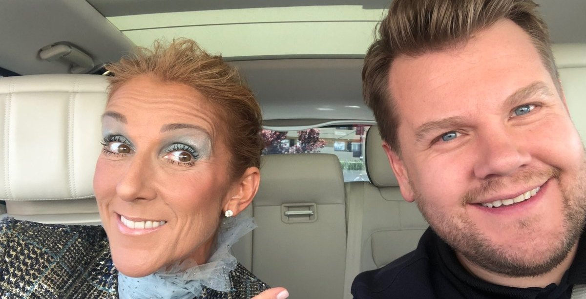 Céline Dion teases upcoming appearance on James Corden's 'Carpool Karaoke'