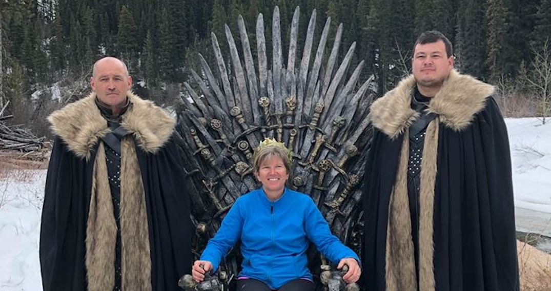 BC couple finds a Game of Thrones Iron Throne in Rocky Mountains