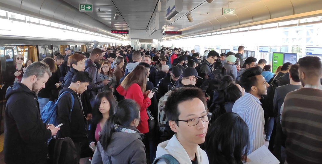 TransLink lineups and delays are a nightmare today (PHOTOS)