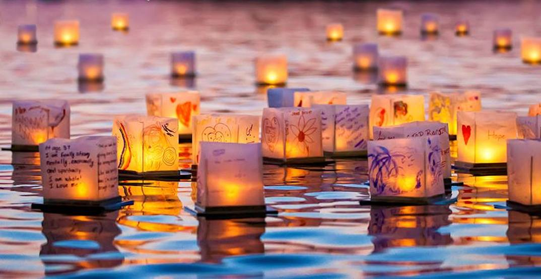 A stunning Water Lantern Festival is coming to Oka Beach in September