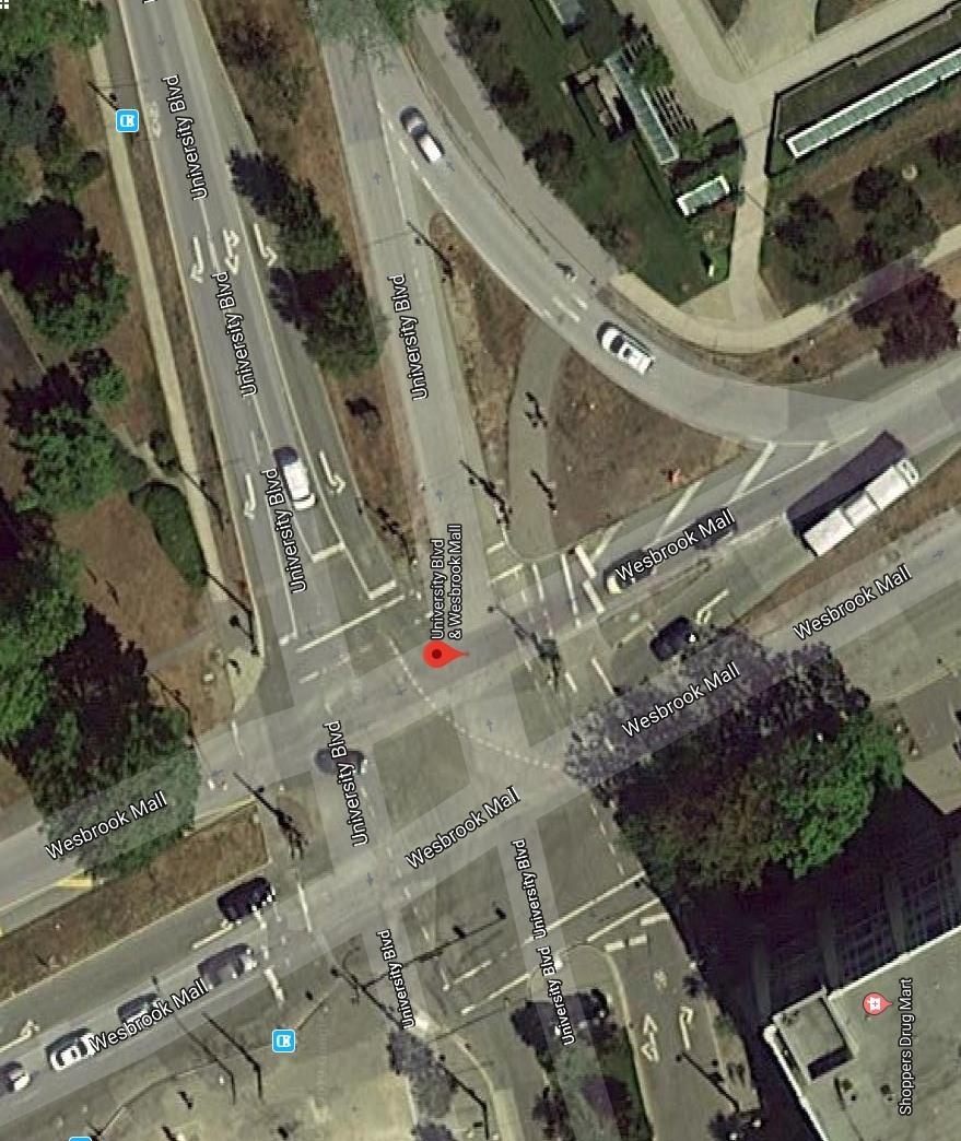 Wesbrook Mall University Boulevard UBC