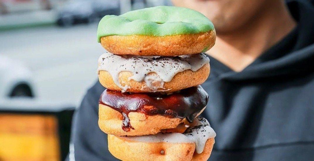 Get fresh mochi doughnuts at TMix Bubble Tea in Metro Vancouver