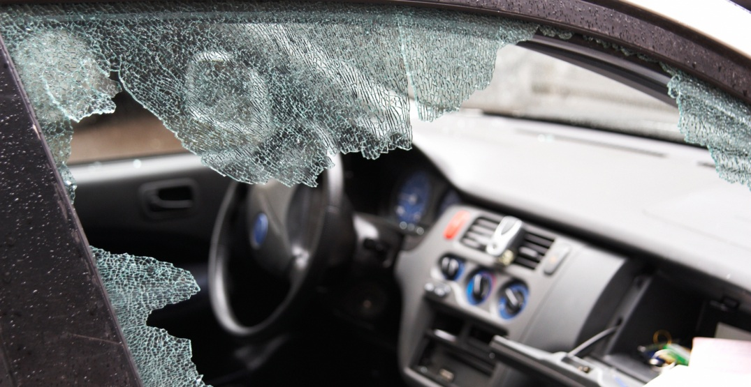 Police investigating after 18 car windows smashed in one night in North Vancouver