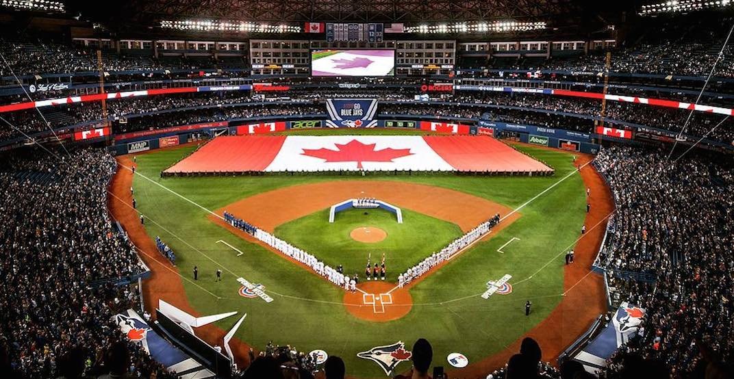 The Blue Jays are having Canada Day flash sale for this weekend's games