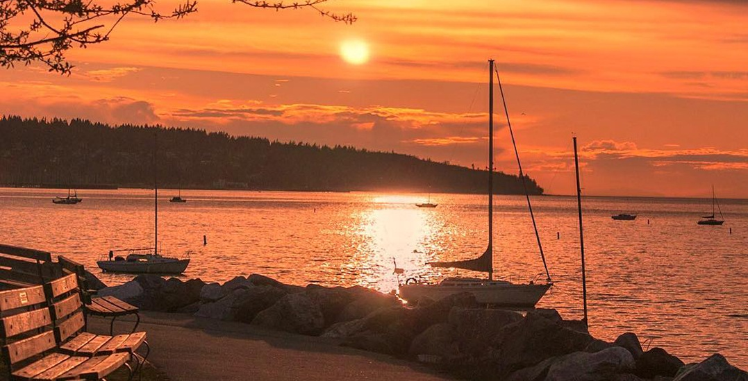 Vancouver witnessed an unbelievably gorgeous sunset yesterday (PHOTOS)