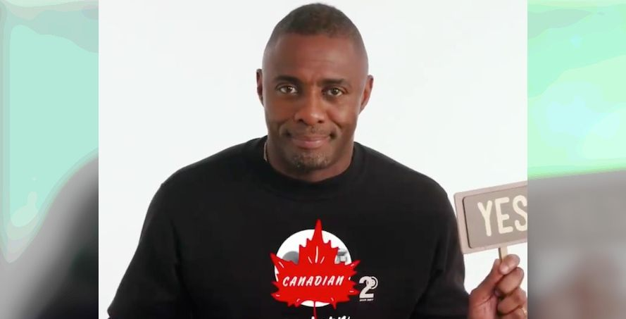 Idris Elba tests out his Canadian knowledge in charming Netflix skit