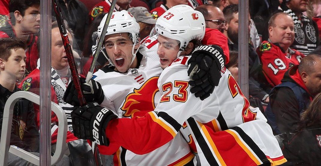 377ade3ab68 Here s how Flames fans reacted to clinching the Western Conference ...