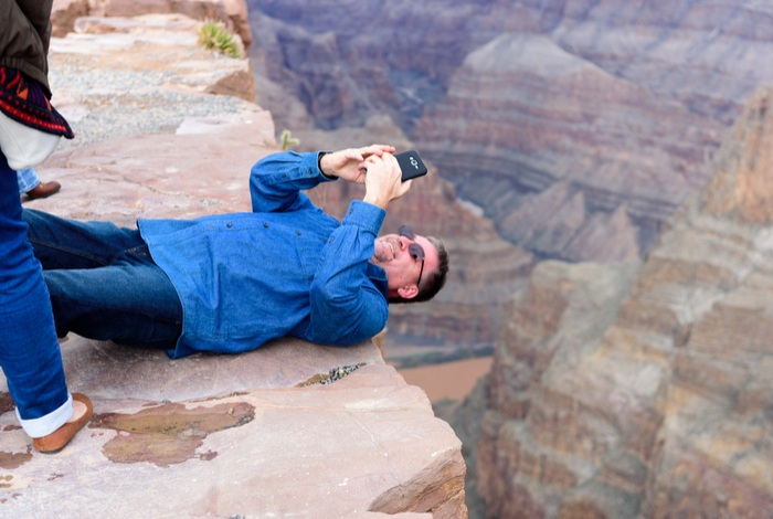 tourist grand canyon