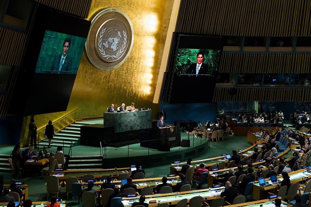 Justin Trudeau United Nations