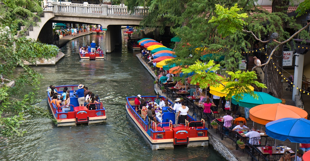 Riverwalk in San Antonio, Texas. (Shutterstock)