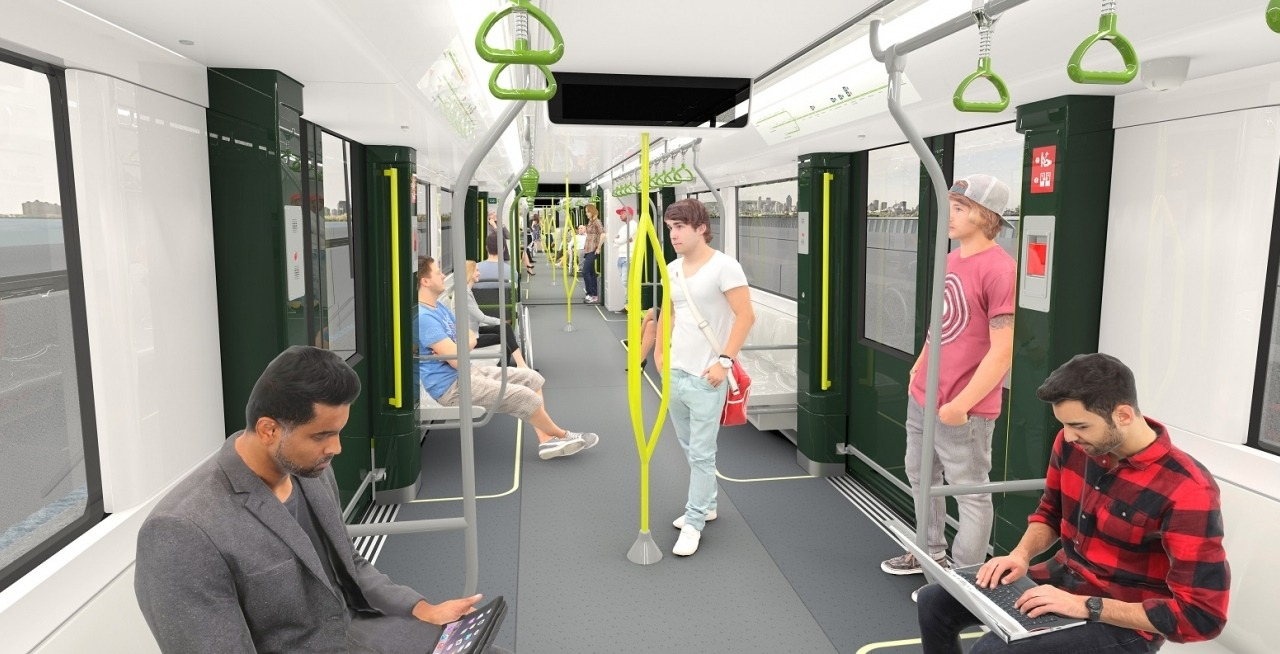 Here S What The Interior Of Montreal S Rem Light Train