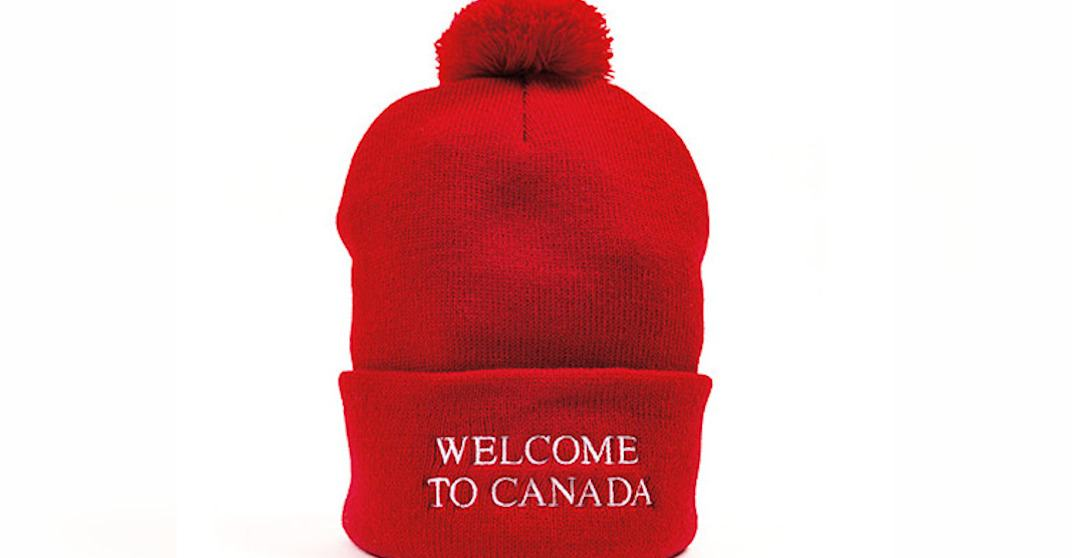 Canadian company unravels 'MAGA' hat to give it a whole new meaning