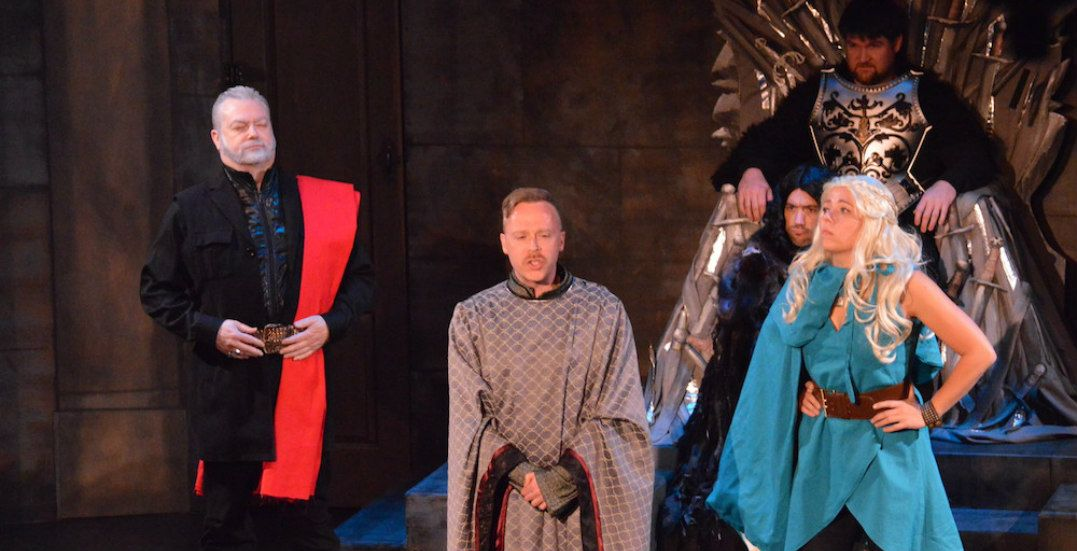 At Vancouver TheatreSports' Game of Thrones-themed show, you laugh or you die (CONTEST)