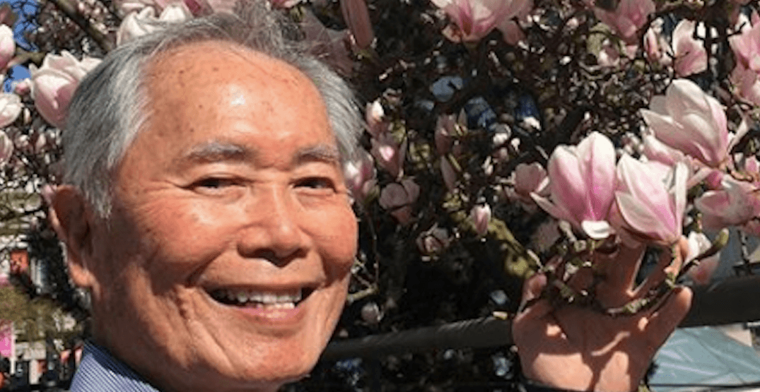 Star Trek legend George Takei says he's loving his time in Vancouver (PHOTOS)