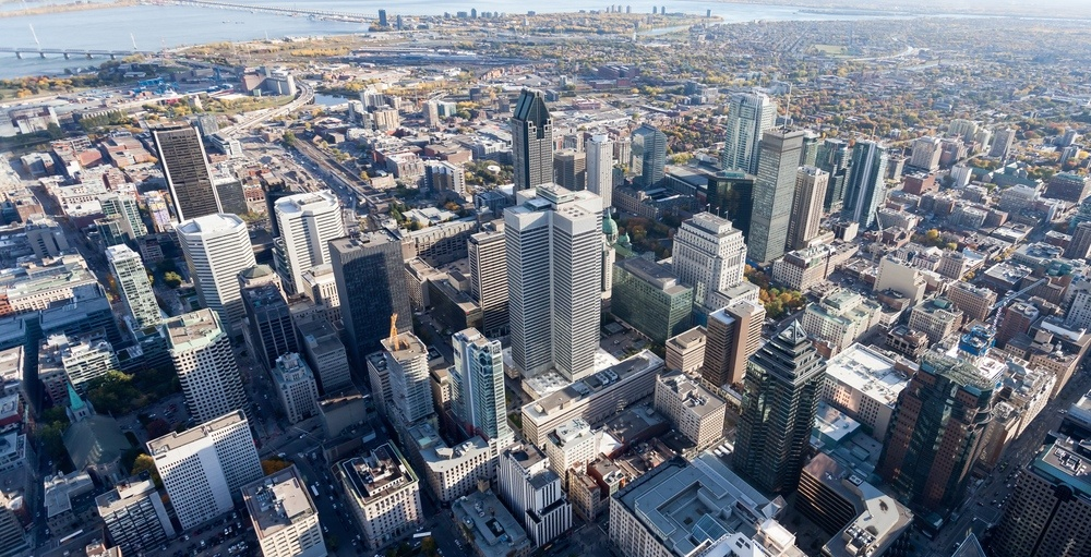 Montreal's downtown office vacancy is the lowest its been in 5 years