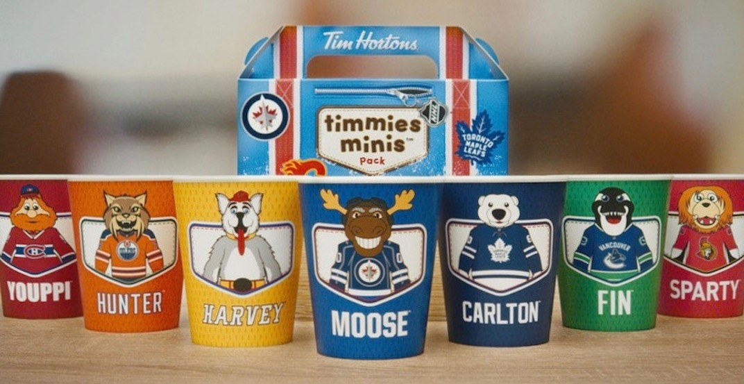 Tim hortons tim hortons  launches new limited edition nhl  colle