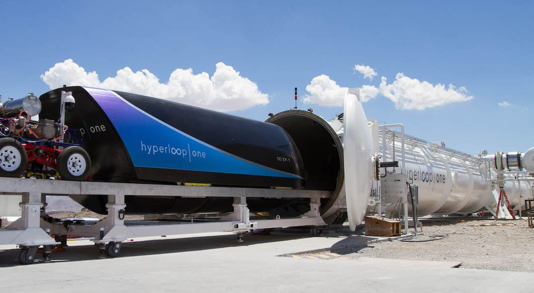 Virgin Hyperloop One: New transit technology could be here in years not decades