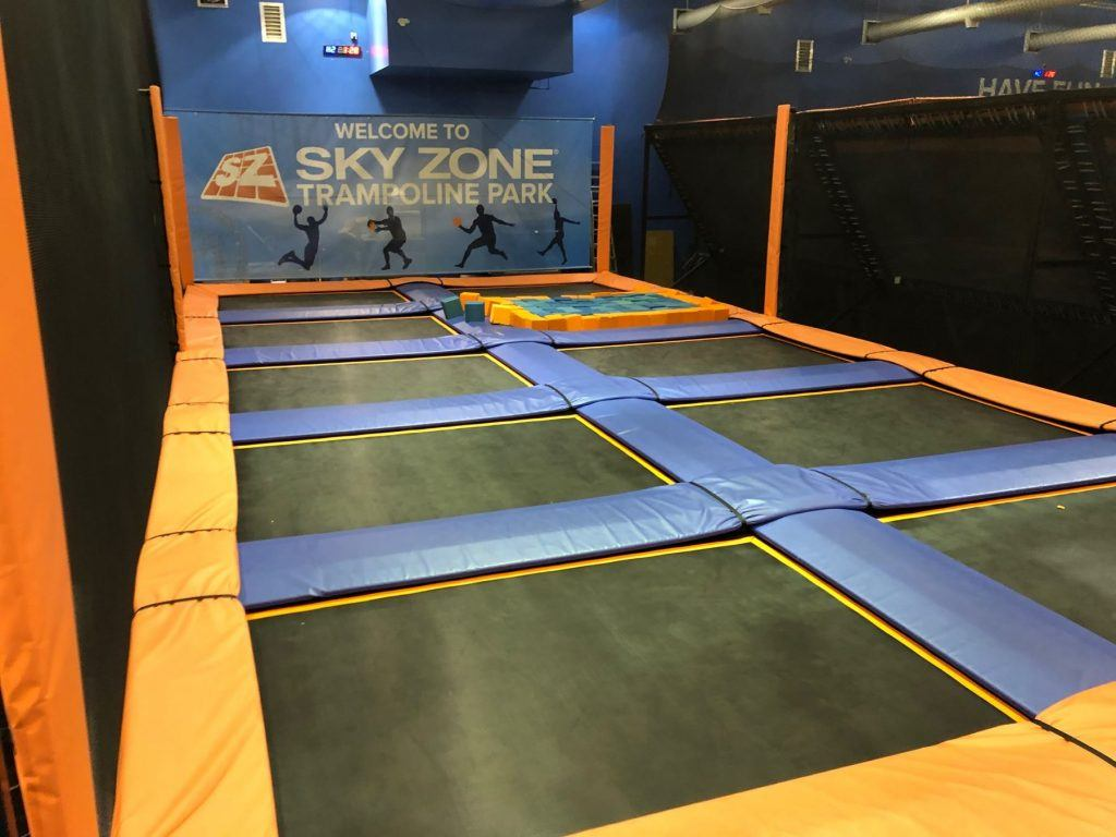 You Can Buy Sky Zone Surrey S Giant Trampolines At An
